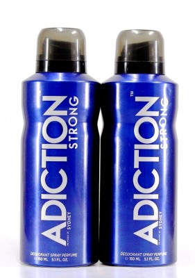 Adiction Sydey Pack of 2 Deodorant Spray - For Boys, Men(300 ml)