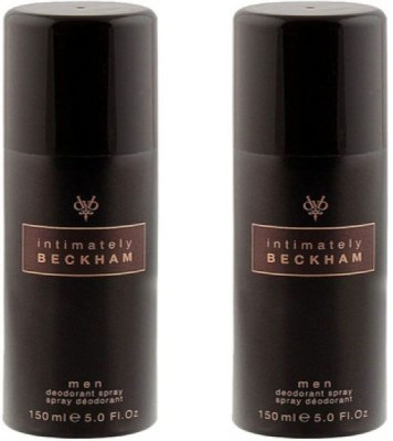 David Beckham 2 Intimately Deodorant Spray  -  For Men