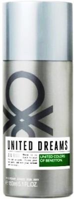 United Colors of Benetton Aim High Deodorant Spray  -  For Men(150 ml) at flipkart