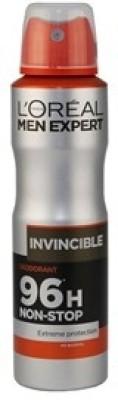 L,Oreal Paris Paris Men Expert Extreme protection Invincible Deodorant Spray  -  For Men