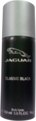 Jaguar Classic Black Deodorant Spray - For Men