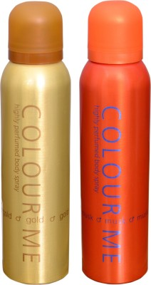COLOR ME 1 HOMME GOLD::1 MUSK DEO Deodorant Spray  -  For Men