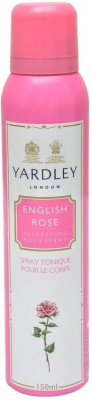 Yardley London English Rose Body Spray - For Women  (150 ml)