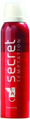 Secret Temptation Passion Deodorant Spray  -  For Women