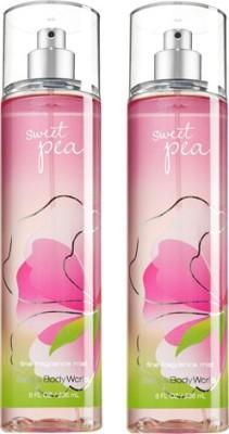 Bath & Body Works Sweet Pea Combo Set Body Mist  -  For Boys, Men, Girls, Women