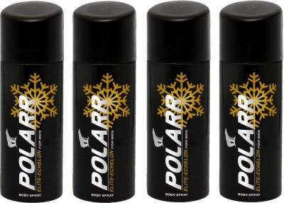POLARR Elite Echelon 4 Deodorant Spray  -  For Men, Boys