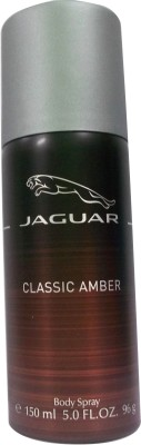 Jaguar Classic Amber Deodorant Spray - For Men(150 ml)