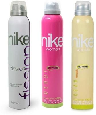 Nike Fission Trendy Urban Musk Body Spray  -  For Women