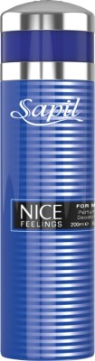 Sapil Nice Feelings Blue Deodorant Body Spray  -  For Boys