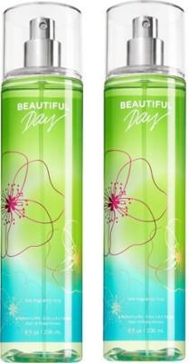 Bath & Body Works Beautiful Day Combo Set Body Mist  -  For Boys, Men, Girls, Women