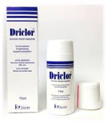 driclor antiperspirant Deodorant Roll-on  -  For Men, Women