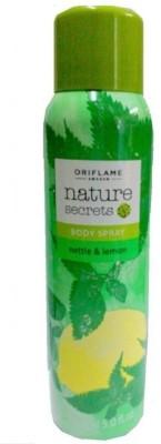 Nature Secrets nettle& lemon Body Spray  -  For Girls, Women