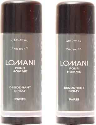Lomani Lomani Pour Homme Deodorant Spray  -  For Men, Women