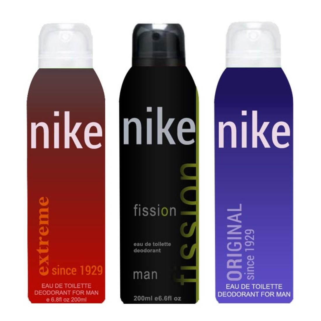 Nike Extreme Fission Original Body Spray  -  For Men