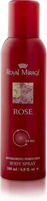 Royal Mirage Rose Body ? Deodorant Spray  -