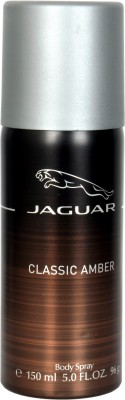 Jaguar Classic Amber Body Spray  -  For Boys