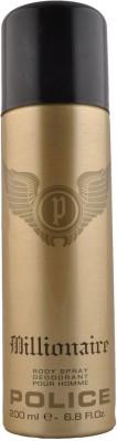 Police Millionairre Deodorant Spray  -  For Men
