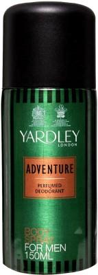 Yardley London Adventure Deodorant Spray  -  For Men