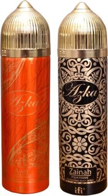 AZKA 1 AWA::1 ZAINAH Deodorant Spray  -  For Men, Women