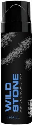 Wild Stone Thrill Perfumed No Gas Body Spray 120ml Body Spray  -  For Men