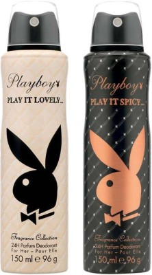 Playboy Play it Lovely and spicy Body Spray  -  For Women