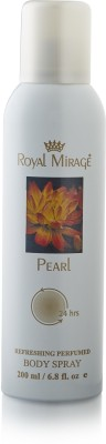 Royal Mirage Pearl Body ? Deodorant Spray  -
