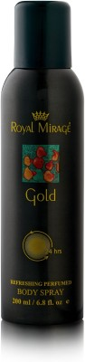 Royal Mirage Gold Body ? Deodorant Spray  -