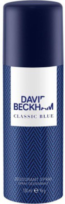 David Beckham Classic Blue Deodorant Spray  -  For Boys(150 ml) at flipkart