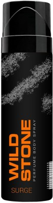 Wild Stone Surge Perfumed No Gas Body Spray 120ml Body Spray  -  For Men