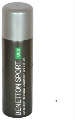 United Colors of Benetton Man Deodorant Spray  -  For Men