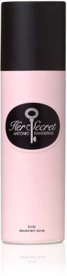 Antonio Banderas Her Secret Deodorant Spray  -  For Girls