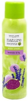 Oriflame Sweden Nature Secrets Lavender & Fig Body Spray  -  For Women, Girls
