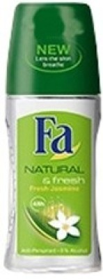 FA Natural And Fresh Jasmin 48hrs Anti Perspirant 0% Alcohol Deodorant Roll-on  -  For Women(50 ml)