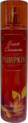 Bath & Body Works Sweet Cinnamon Pumpkin Body Mist  -  For Women, Girls