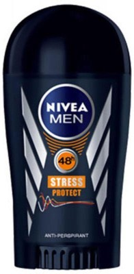 Nivea Men 48h Stress Protect against Sweating Antiperspirant Deodorant Roll-on  -  For Men