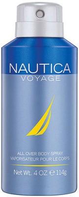 Nautica Voyage Deodorant Spray  -  For Men