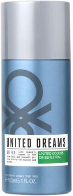 United Colors of Benetton Go Far Deodorant Spray  -  For Men(150 ml) at flipkart