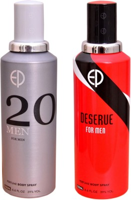 ESTIARA 1 20 MEN::1 DESERVE MEN Deodorant Spray  -  For Men