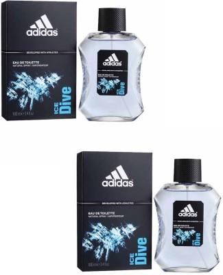 Adidas Ice Dive EDT Combo Body Spray  -  For Boys, Men