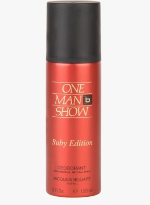 Jacques Bogart One Man Show Ruby Deodorant Spray  -  For Men