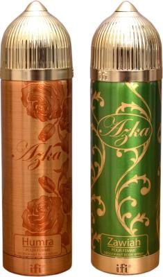 AZKA 1 HUMRA::1 ZAWIAH Deodorant Spray  -  For Men, Women