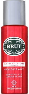 Brut Attraction Totale Deodorant Spray - For Boys, Men(199 ml)