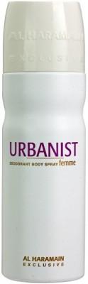 Al Haramain Urbanist Body Spray  -  For Women
