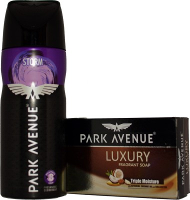 Park Avenue STORM WITH LUXURY SOAP Deodorant Spray  -  For Boys, Men
