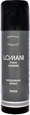 Lomani Pour Homme For Men Deodorant Spray - For Boys, Men(199 ml)