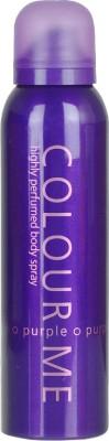 Colour Me Highly Perfumed - Purple Deodorant Spray  -  For Women