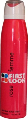 First Look Rose Femme Deodorant Spray  -  For Women