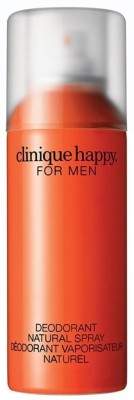 Clinique Happy Natural Spray Men Body Spray  -  For Boys