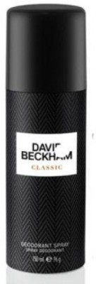 David Beckham Classic Deodorant Spray  -  For Men