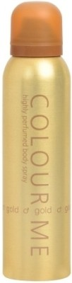 Colour Me Gold Deodorant Spray  -  For Women(150 ml) at flipkart